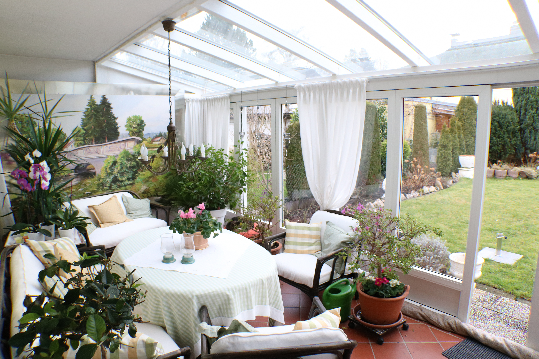 Gepflegtes reihenmittelhaus mit wintergarten mit viel - Wintergarten ffb ...